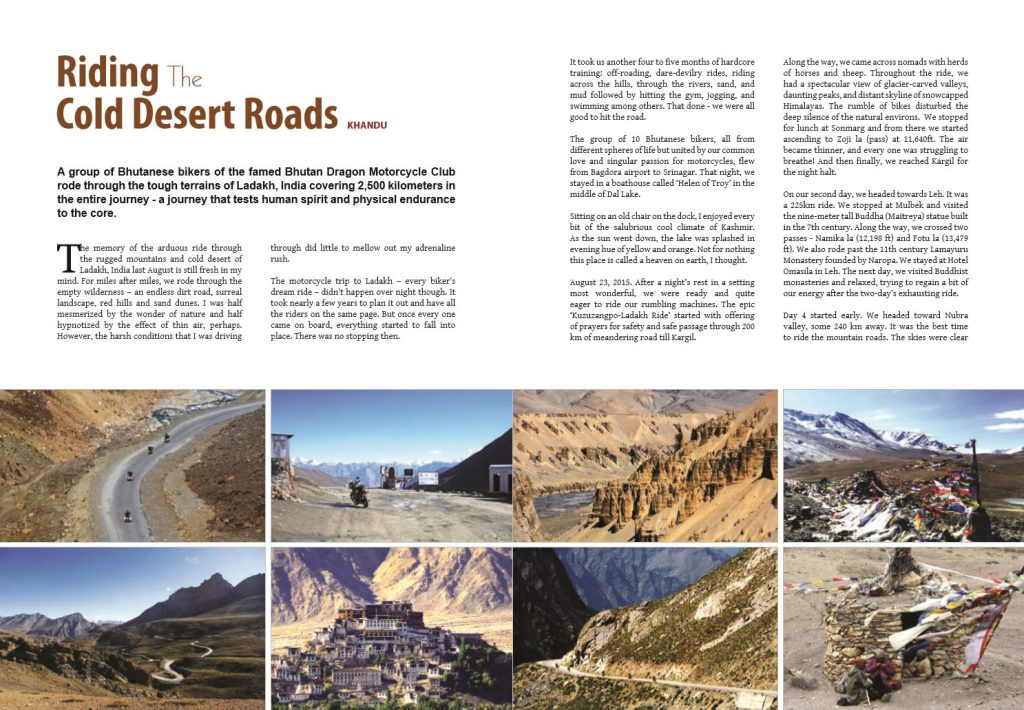 Riding The Cold Desert Roads